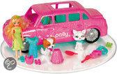 Polly Pocket Sprankelende dieren limousine