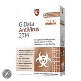 G DataAntiVirus 2014 - Nederlands / 3 Pc's / 1 Jaar