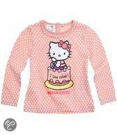 Hello Kitty Meisjesshirt - Roze - Maat 3 mnd