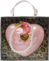 LDbyLittle Diva - Roze - Zeep hart met armband