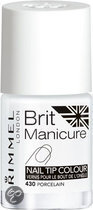 Rimmel London Brit Manicure Nail Tip Colour - French Manicure