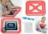 KidsCover iGripper Beschermhoes - Geschikt voor Apple iPad 2/3/4 - Rood