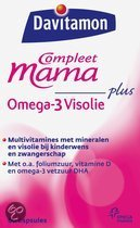 Davitamon Compleet Mama Visolie - 60 st - Multivitaminen