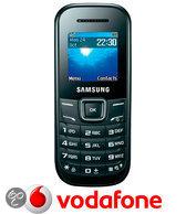 Samsung E1200 - Zwart - Vodafone prepaid telefoon
