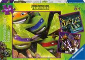 Ninja Turtles Puzzel - De Vier Turtles