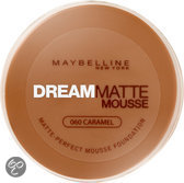 Maybelline Dream Matte Mousse - 60 Caramel - Foundation