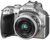 Panasonic Lumix DMC-G5XEG-14-42mm Powerzoom - Systeemcamera - Zilver