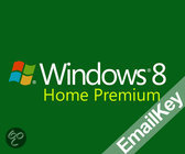Windows 8 Home Premium | OEM | 32/64 bits | Download + Licentie | Installatietaal: Engels