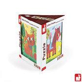 Janod Set van 3 puzzels - Tornado, Titus en Felix