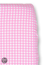 Cottonbaby - Hoeslaken Ledikant Ruit - Roze