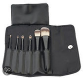 Sibel Nylon - 6 st - Make-Up Penselen Set