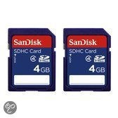 Sd 4Gb 2 Pack