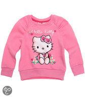 Hello Kitty Meisjessweater - Donkerroze - Maat 104