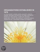 Organizations Established in 1979