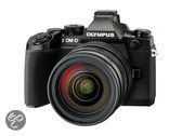 Olympus E-M1 + 12-40mm - Systeemcamera - Zwart