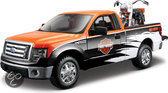 Maisto Ford F-150 Met Harley-Davidson schaal 1:24 (oranje/zwart)