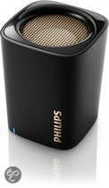 Philips BT100B - Bluetooth-speaker - Zwart