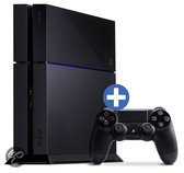 Sony PlayStation 4 Console 500GB + 1 Wireless Dualshock 4 Controller - Zwart PS4