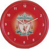 Liverpool Wandklok - Rood