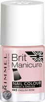 Rimmel Brit Manicure - 445 English Rose - French Manicure