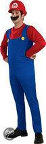 Super Mario™ - Kostuum - Maat L - Blauw