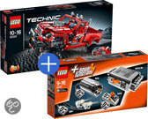 LEGO Technic Voordeelbundel: Custom Pick-up 42029 + Power functies motorset 8293