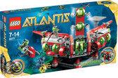 LEGO Atlantis Expeditie Hoofdkwartier - 8077