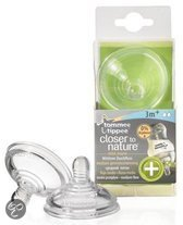Tommee Tippee - Closer to Nature Anti Colic Flesspeen - Medium Flow