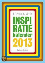 Inspiratiekalender  / 2013