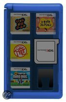 Game Card Case 24 3Ds - Blauw