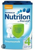 Nutrilon 4 - Dreumes Groeimelk 800 gram