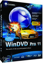 Corel Windvd Pro 2011 mini Box - Win