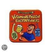 Pepermunt blikje vitamine pillen bierdrinkers