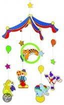 Goki Mobiel circus 26,5 x 40 cm