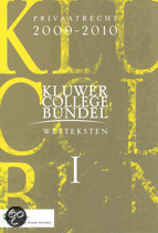 Kluwer Collegebundel wetteksten / 2009-2010