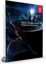 Adobe Production Premium 6 CS6 - Engels / Win / Student