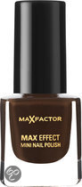 Max Factor Max Effect - 22 Coffee Brown - Bruin - Mini Nagellak