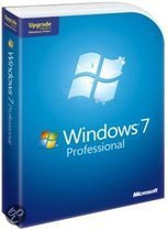 Microsoft Windows 7 Professional - Engels / Upgrade / DVD