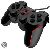 Gioteck VX-2 Wired Rumble Controller - Zwart (PS3)