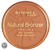 Rimmel London Natural Bronzing Powder - 021 Sunlight - Bronzingpoeder & Blush