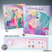 Ylvi & the minimoomis vriendenboek met regenboog