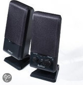 Edifier M1250 - 2.0 Speakerset - Zwart