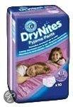 DryNites Girl - Absorberende Broekjes 4-7 jr