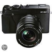 Fujifilm X-E2 + 18-55mm - Systeemcamera - Zwart