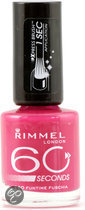 Rimmel 60 seconds finish nailpolish - 260 Funtime Fuchsia - nagellak