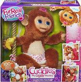 FurReal Friends - Knuffel - Koko mijn Giegelende Aap