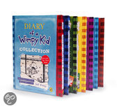 Diary of a Wimpy Kid boxset (1-7)