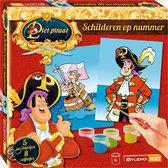 Piet Piraat Schilderen op Nummer