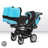 Babyactive Trippy 4 - Drieling kinderwagen - Blauw