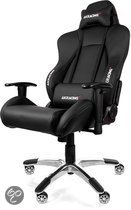 AKRACING Premium Racestoel - Zwart (PS3 + PS4 + Xbox360 + XboxOne + PC + Wii U)
